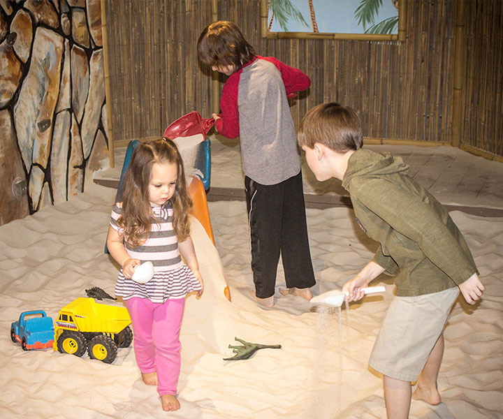 Largest Indoor Sandbox